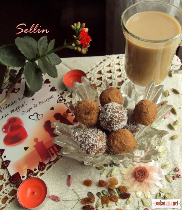 Корисні цукерки для коханого + кава по-тайландськи