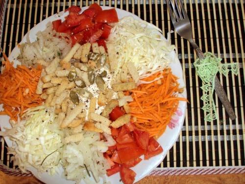 Салат купками