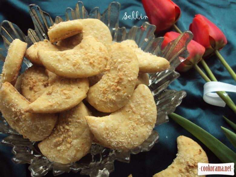 Лимонно-кокосове печиво на яблучному соці