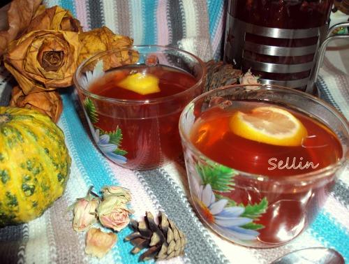 """Кукорамівці, пропоную провести флешмоб Зігріваючих напоїв.  І чай """" Lemon & Cranberry"""""""