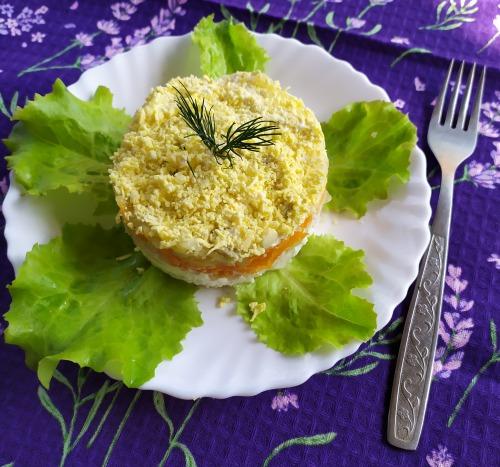 Мімоза салат рецепт