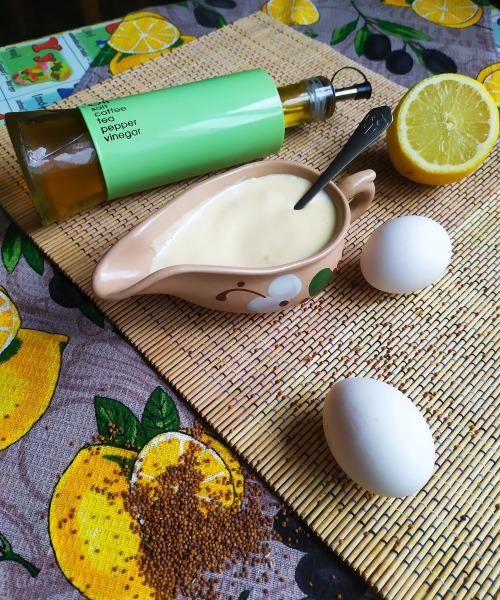 Как готовить домашний майонез