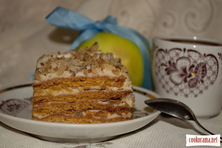 Торт «Медові руці»