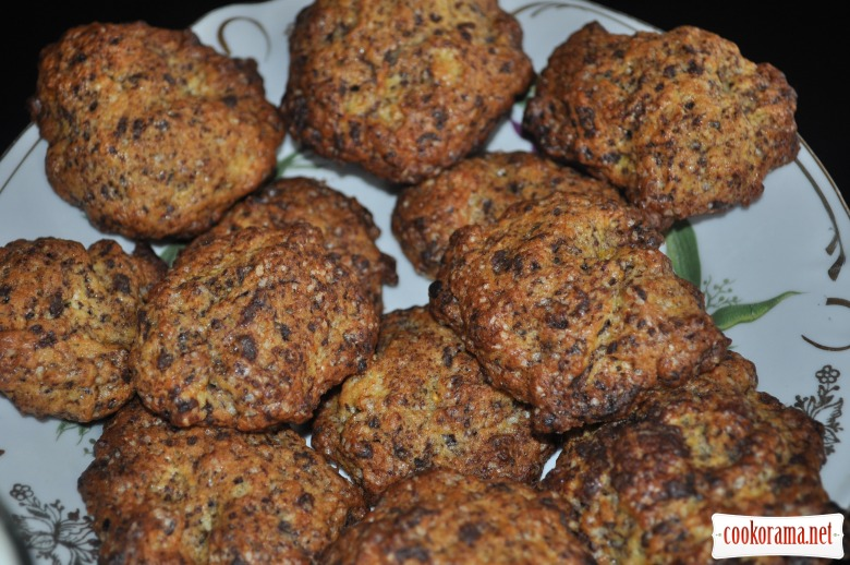 Шоколадно-гарбузове печиво
