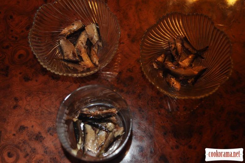 Салат-коктель «Рибний день»