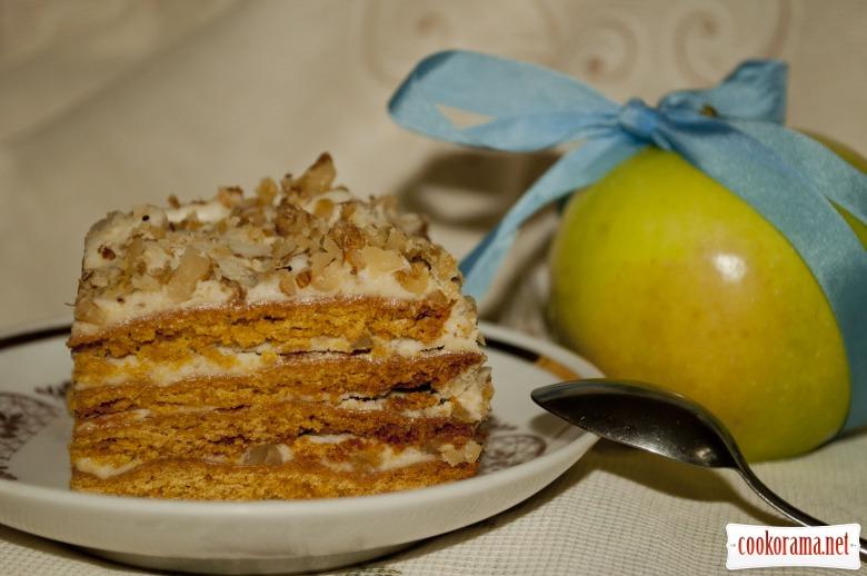Рецепт медовый торт ангарский