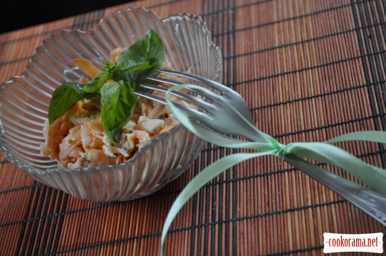 Гострий гарбузовий салат