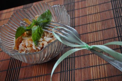 Острый тыквенный салат