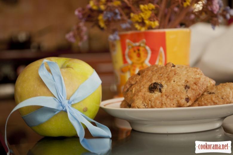 Домашнє вівсяне печиво з шоколадною крихтою