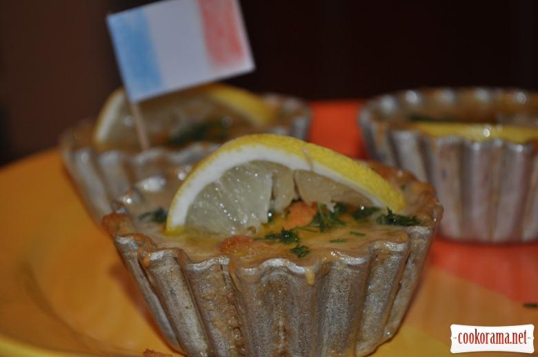 Жульен с морепродуктами
