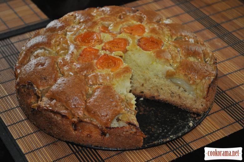 Швидкий літній пиріг