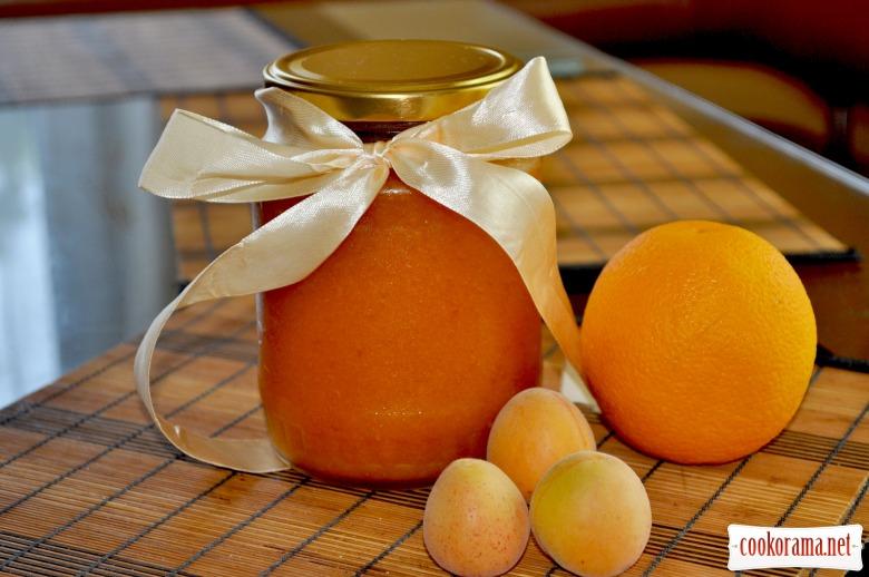 Абрикосово-апельсиновий джем