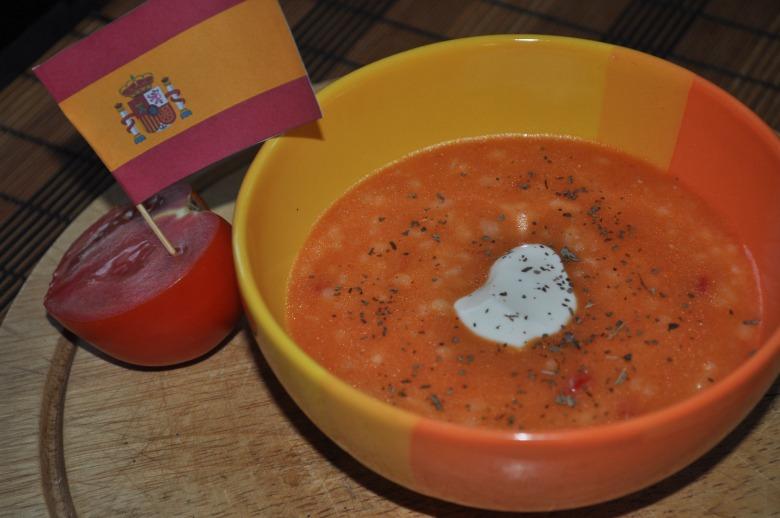 Рисово-цибульовий суп-пюре