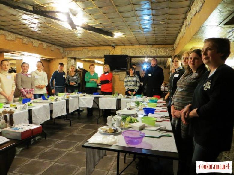У Кіровограді готували французькі витребеньки з Жаном Луї Дюжером