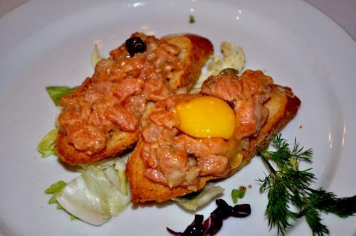 Тартар з лосося