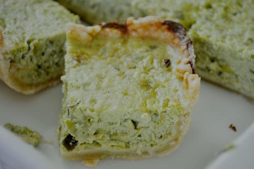 Пиріг із зеленого горошку