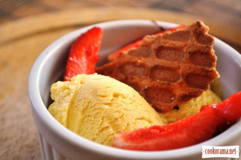 Ванільне морозиво