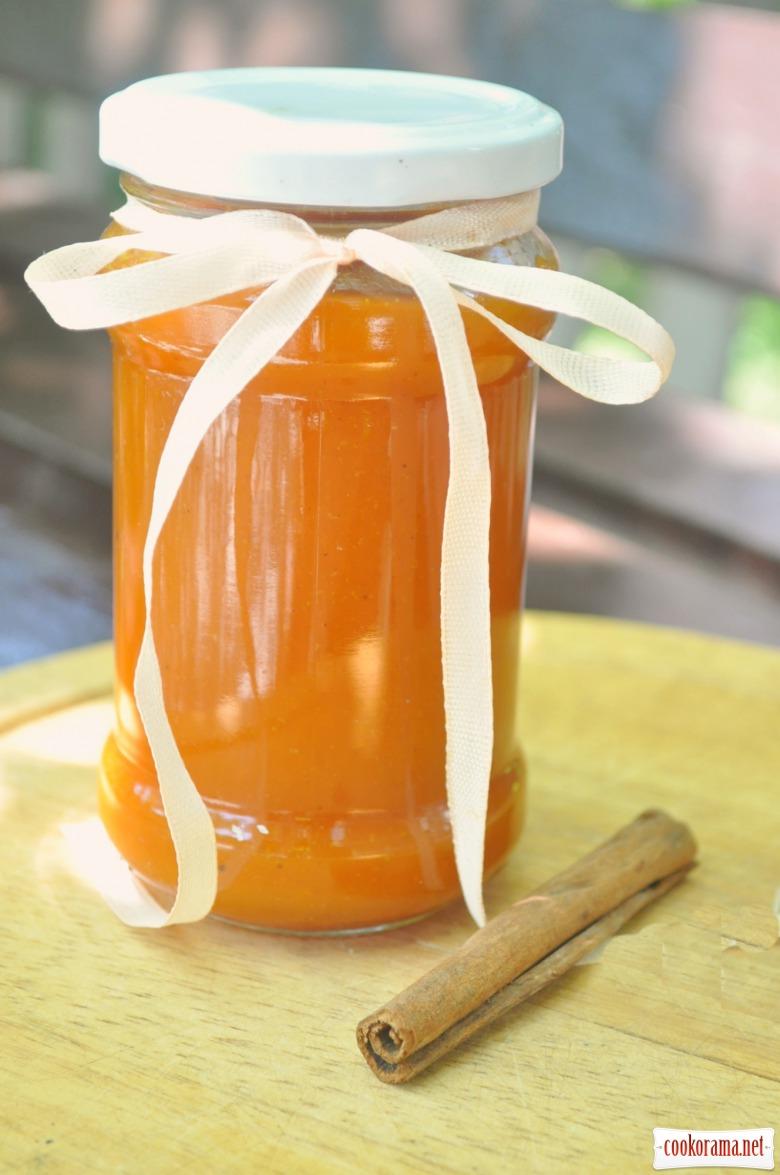 Пряний абрикосово-імбирний джем