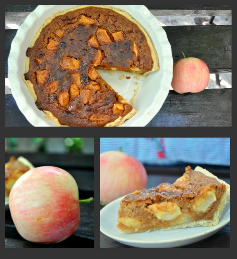 """Яблочный пирог """"Ириска"""""""