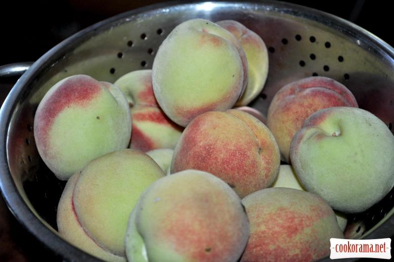 Персиковый конфитюр