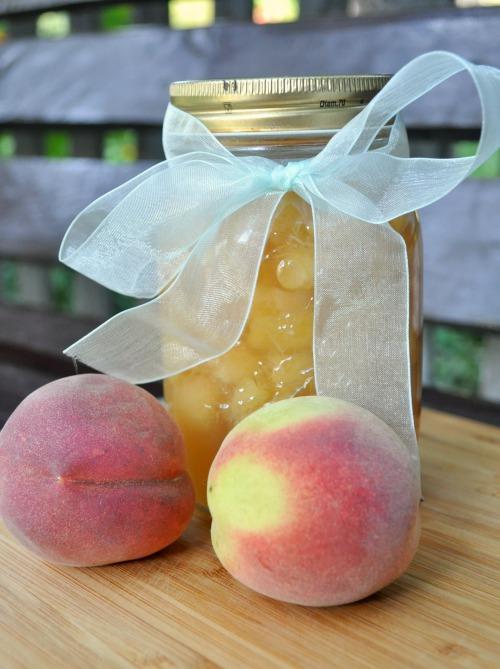 Персиковий конфітюр
