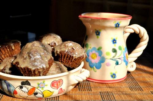 Кексы на кофейной гуще