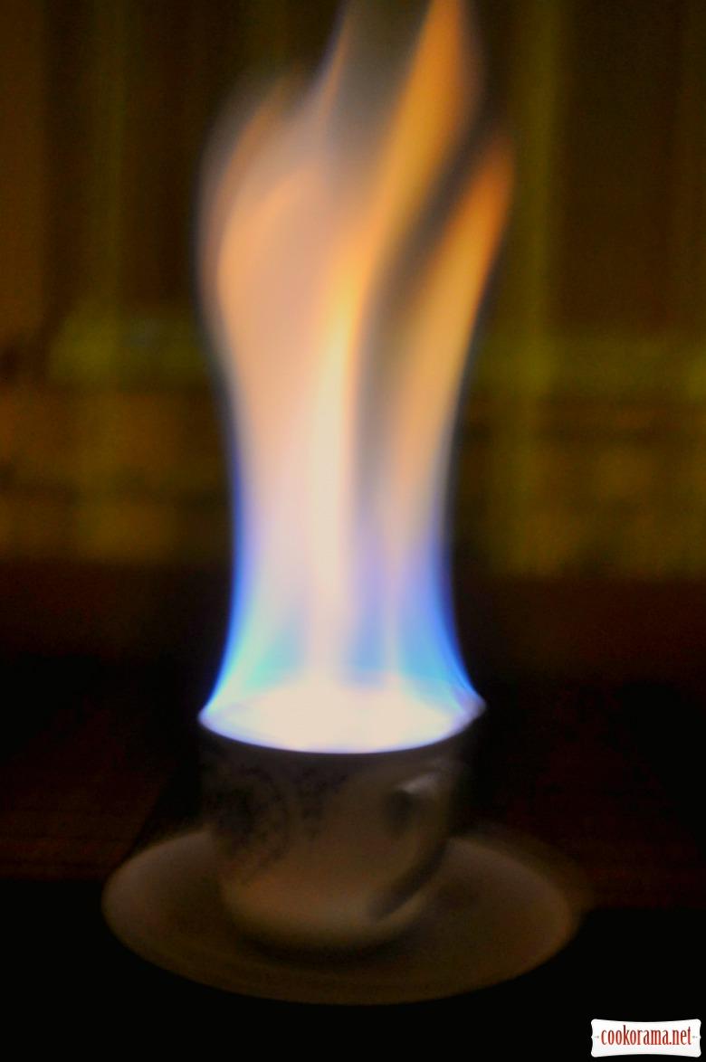 Кофе с огоньком