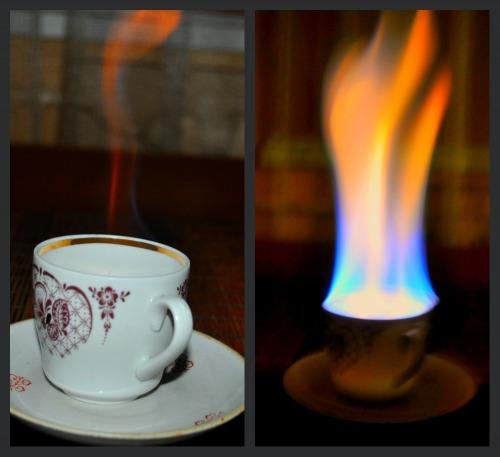 Кава з вогником