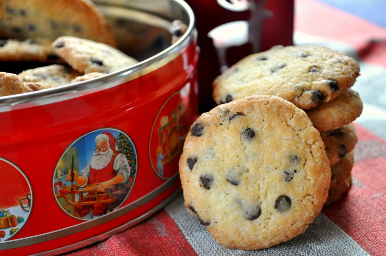 Печиво з шоколадними дропсами