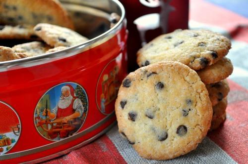 Печенье с шоколадными дропсами