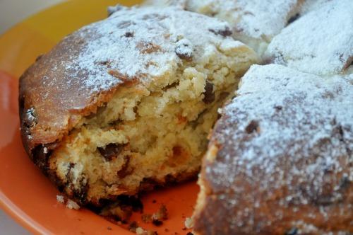 Panettone - итальянский пирог к Рождеству и Пасхе
