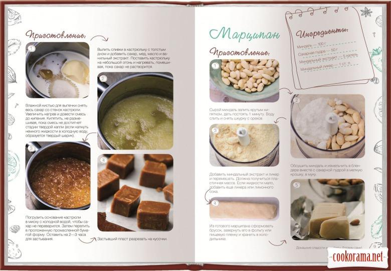 Вийшла книга «Домашні солодощі і цукерки. Робимо самі»