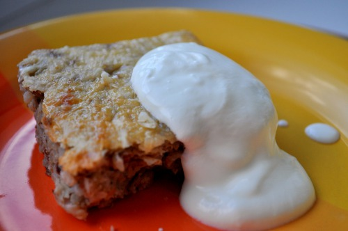Гречаний пиріг з пармезаном
