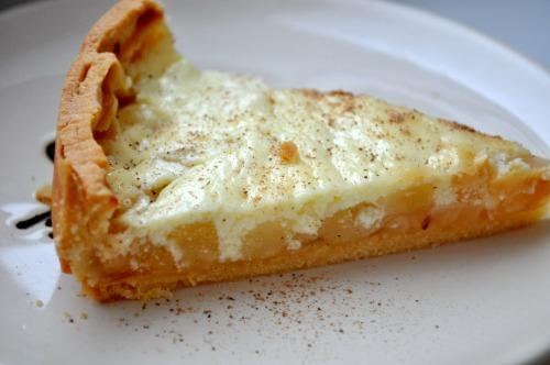 Яблучно-грушевий тарт