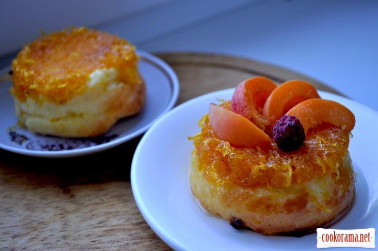 Сирні міні-запіканки з морквою