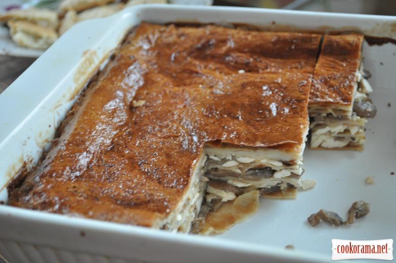 Млинцевий пиріг: закусочний і солодкий