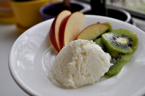 Сирне морозиво