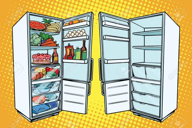 Як правильно зберігати продукти в холодильнику і морозилці