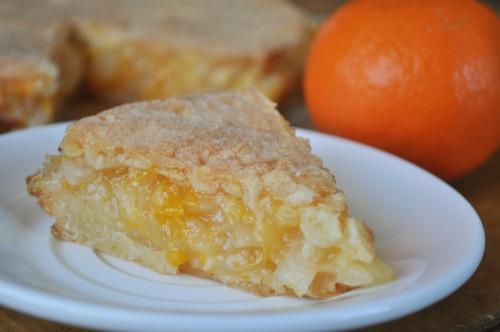 Пиріг яблучно-апельсиновий