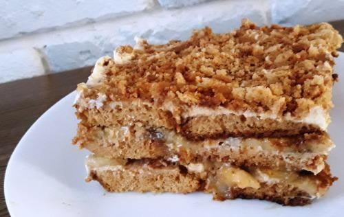 Прянично-банановий торт