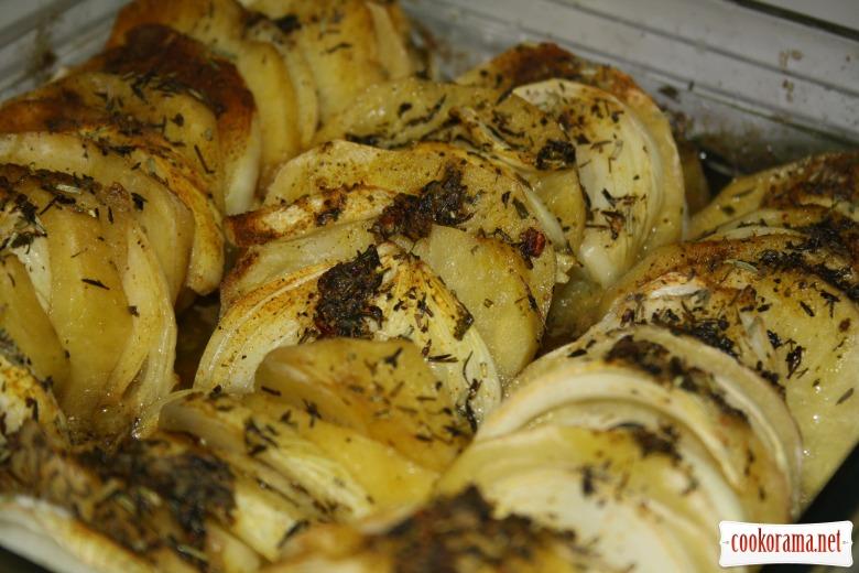 Картофель запеченный Криспи Гратин