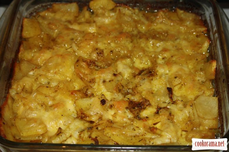 Картофель запеченный Дофинэ (Pommes de Terre Dauphinoise)