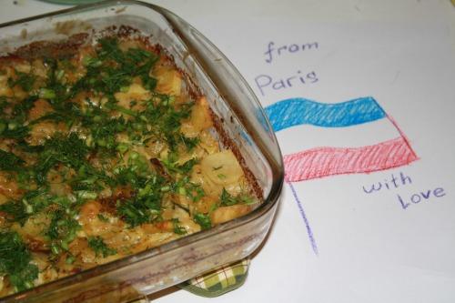 Картопля запечена Дофіне (Pommes de Terre Dauphinoise)
