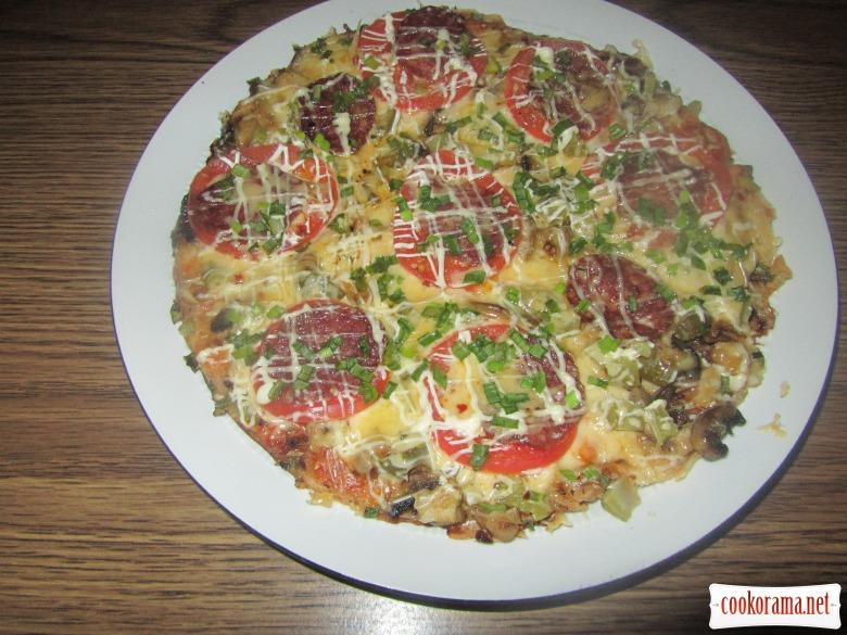 Пицца «Настоящая находка»