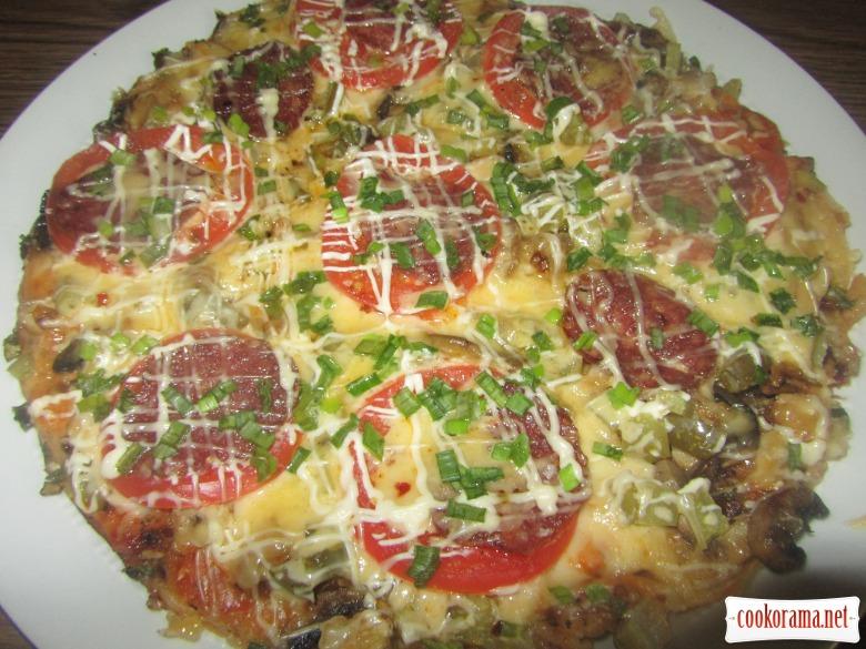 """Пицца """"Настоящая находка"""""""