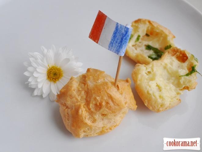 Гужери або сирний аромат Франції у вас на кухні