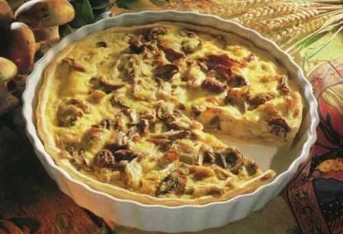 Пирог с грибами по-украински