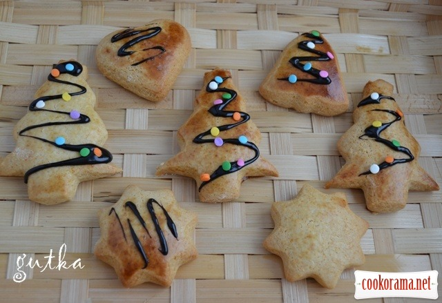 Печиво різдвяне-медове