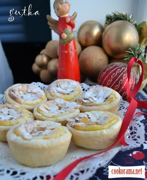 Portuguese Pasteis de Nata – португальські вершкові тістечка