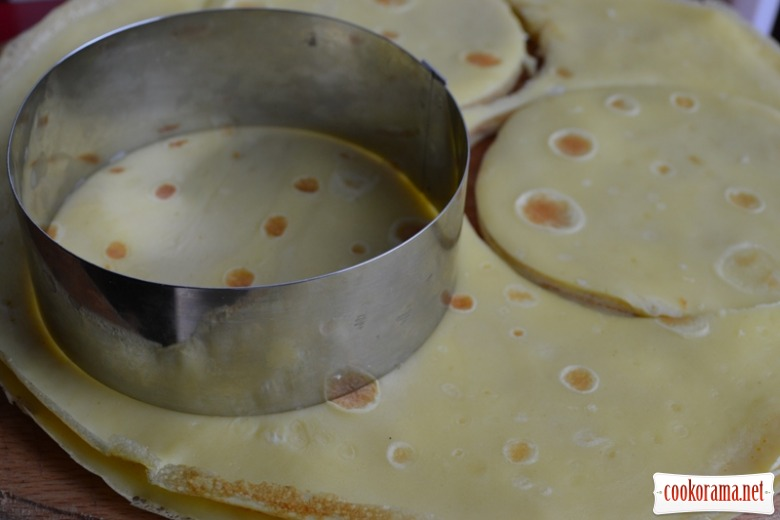 Млинцеві міні-тортики